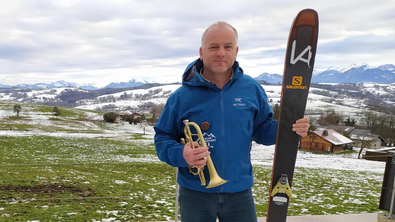 Edgard a trouvé sa voie avec sa trompette, ses skis et... sa voix.