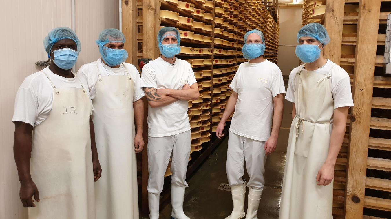 Dirigée par Pierre Tupin, la fromagerie du Pays de Gavot, basée à Féternes, emploie six personnes.