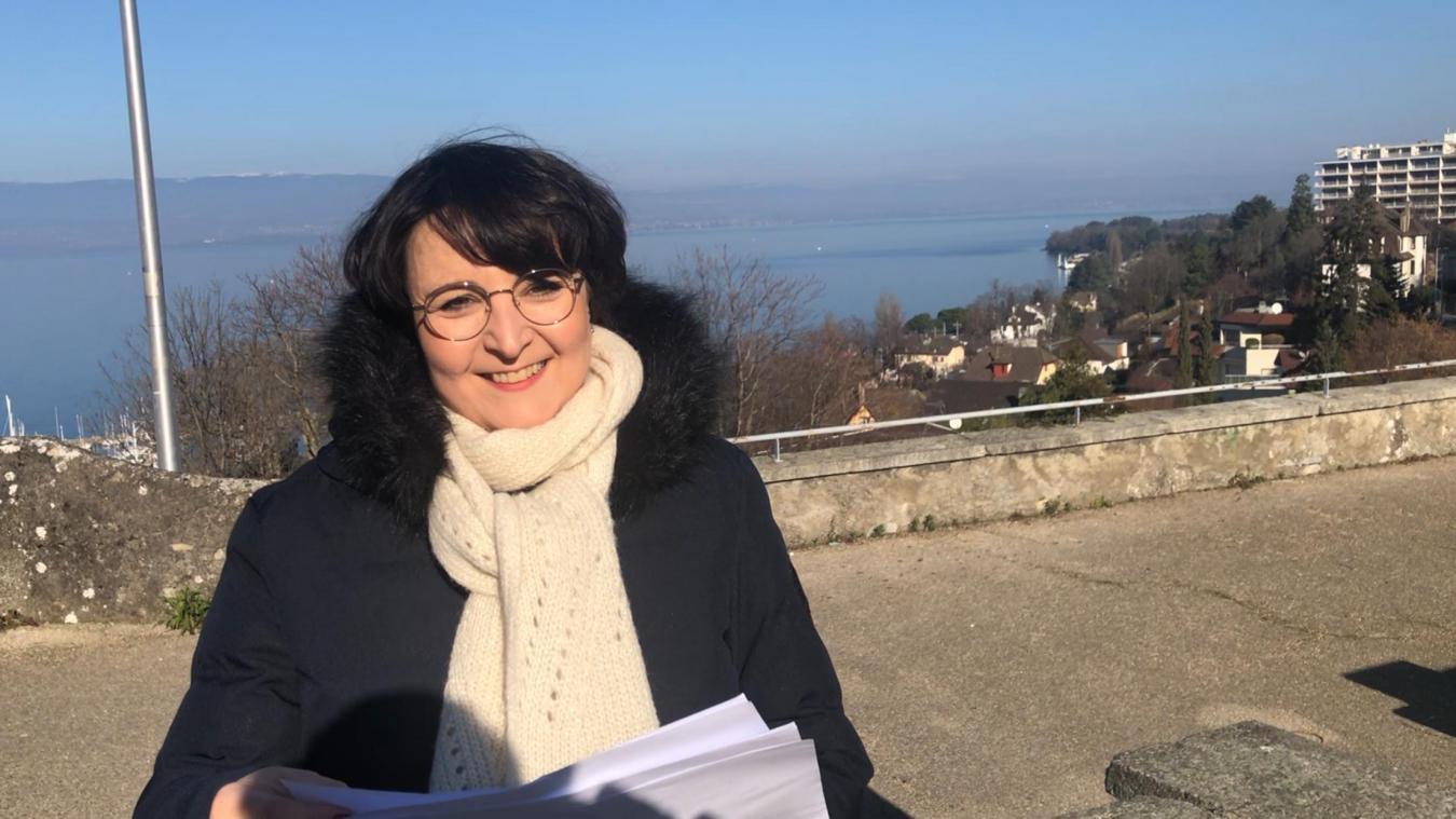 Astrid Baud-Roche a volé la vedette aux autres opposants lors du dernier conseil municipal de l'année.