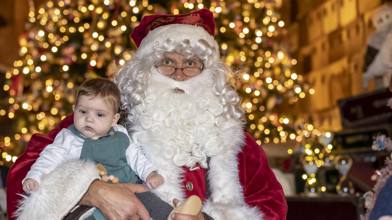 Le Père Noël a toujours la cote auprès des enfants.