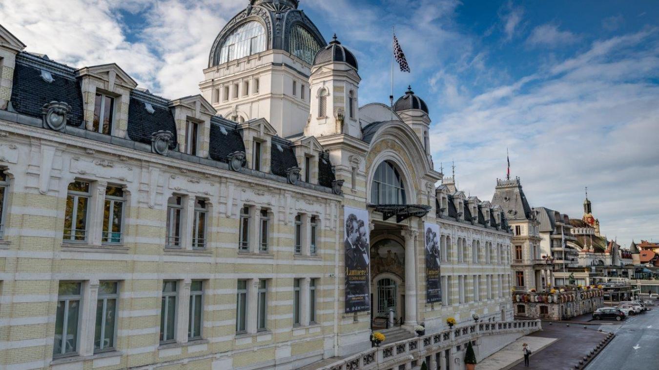 Les anciens thermes d'Evian ont été construits par les architecte Ernest Brunnarius et Jean-Albert Hébrard.