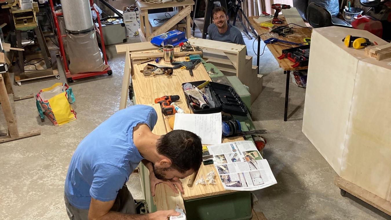 Le Woodlab à Sergy.