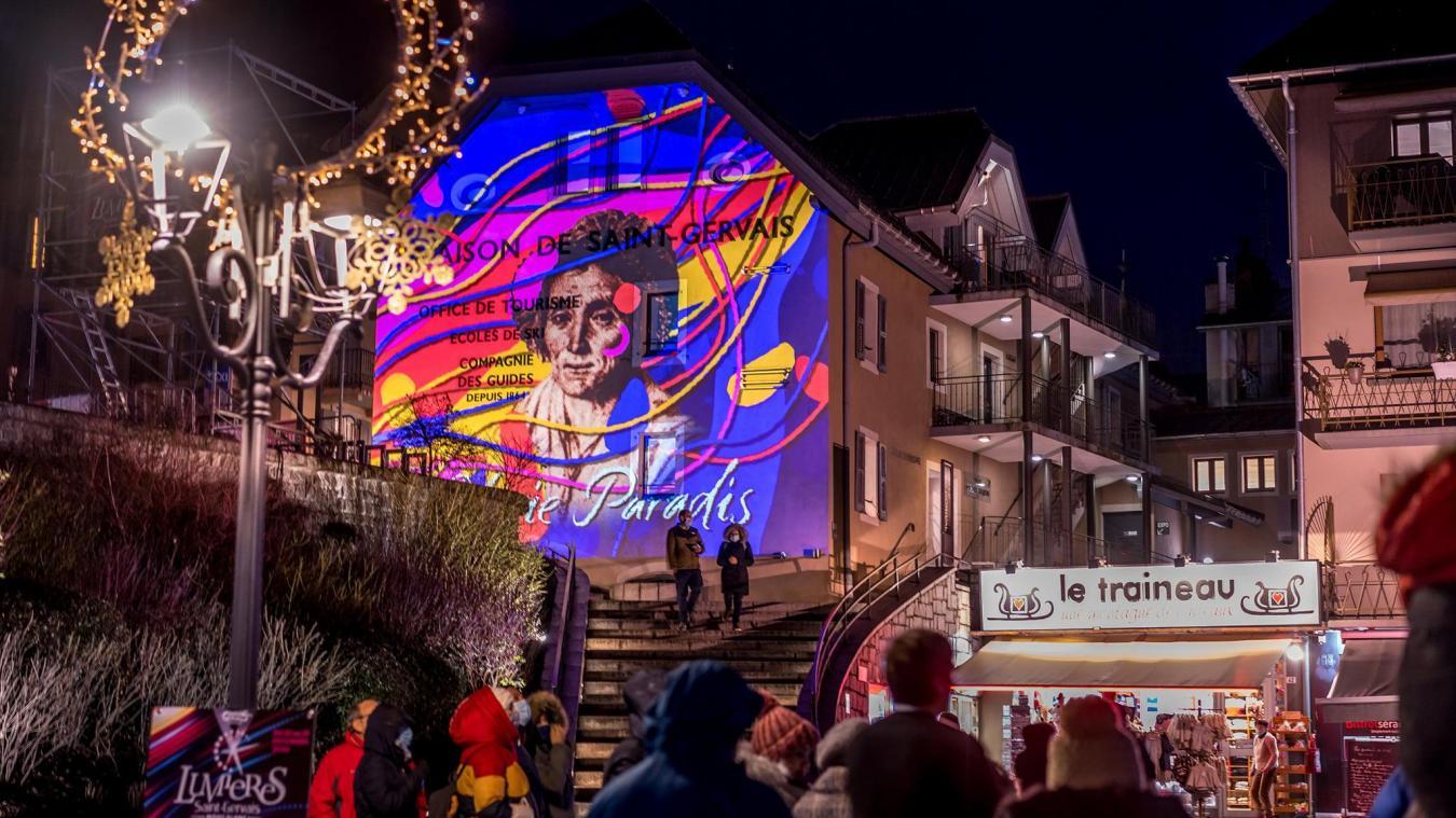 Saint-Gervais-les-Bains: succès populaire pour la 5e Fête des lumières
