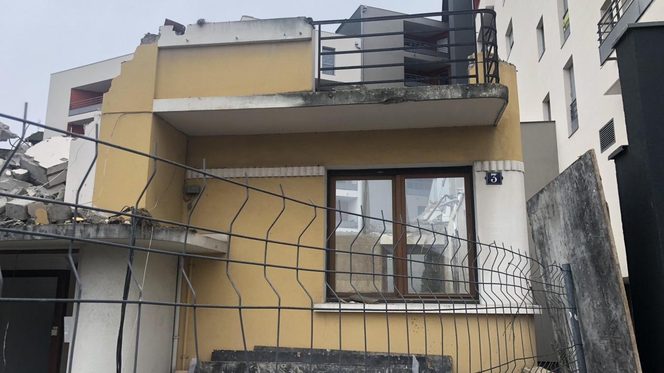 Thonon-les-Bains : la maison jaune, symbole de la bétonisation, a été rasée