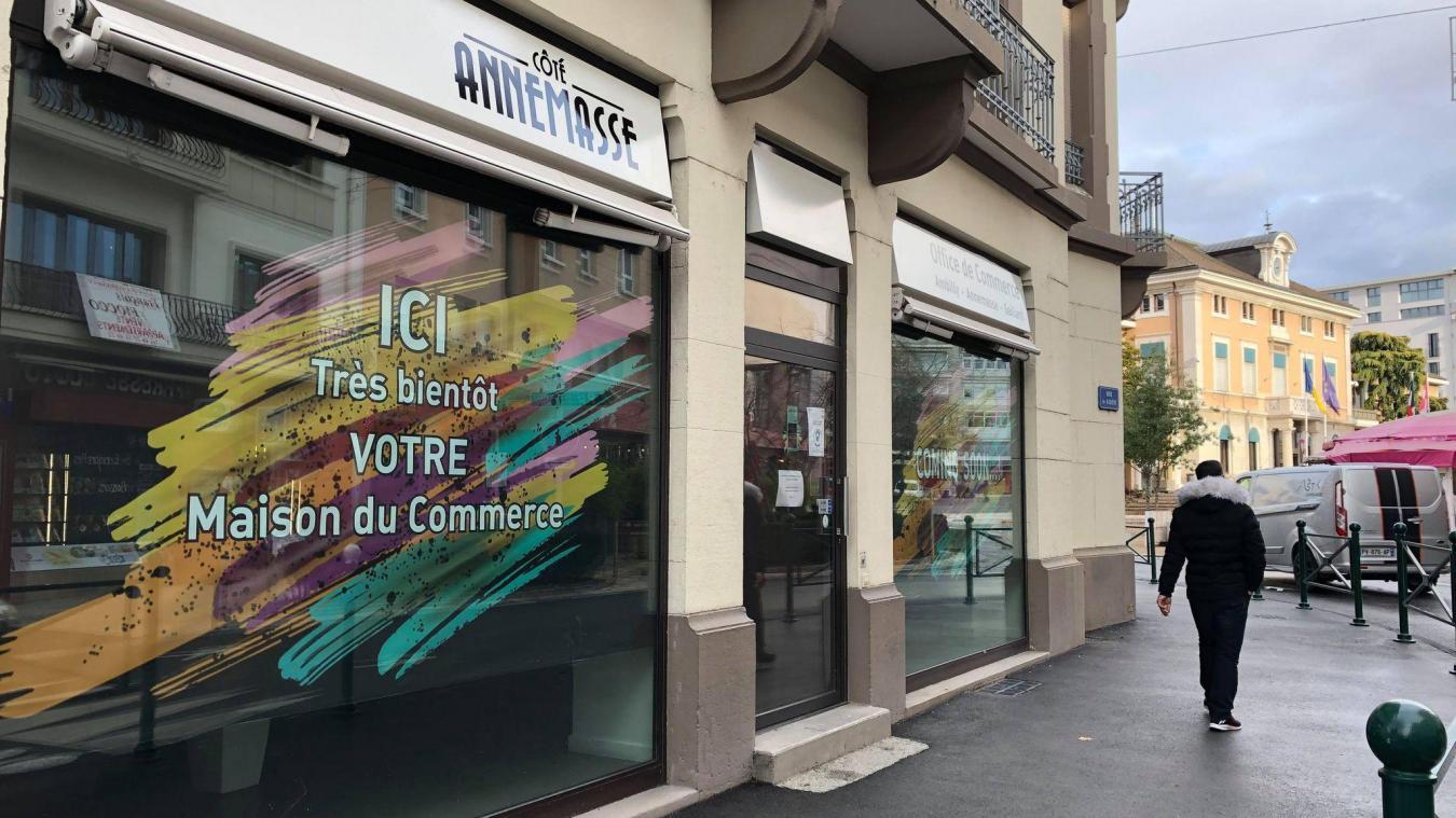 La Maison du commerce sera située à deux pas de la place de l'Hôtel-de-Ville.