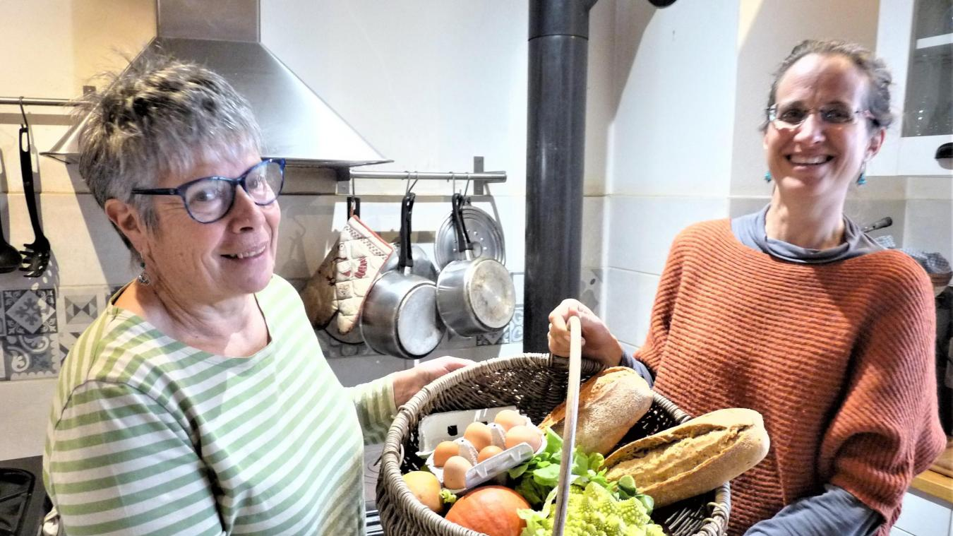 Le panier garni d'Isabelle et Mathilde : l'épicerie solidaire pour changer d'ère.