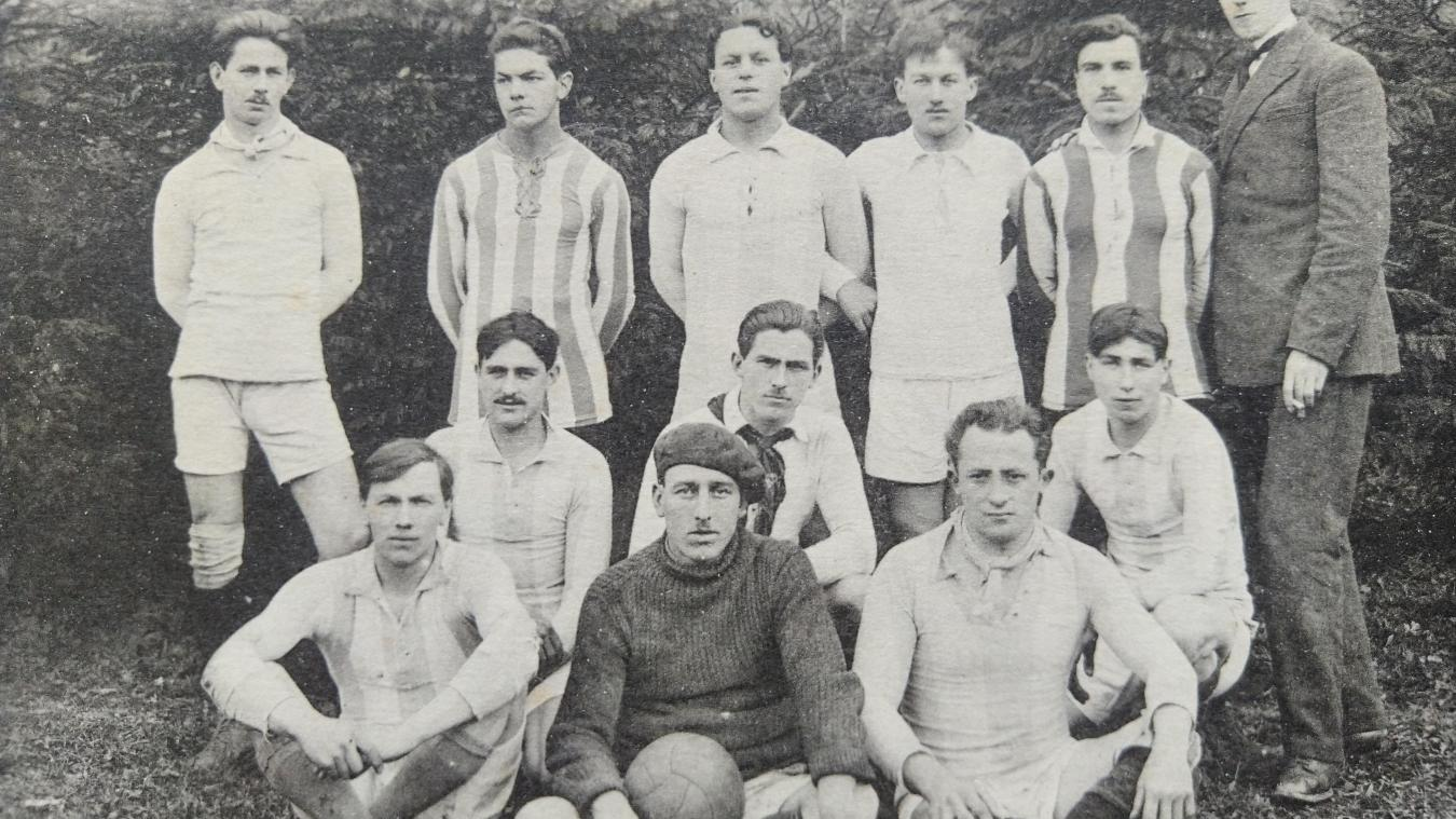 L'Union sportive nantuatienne en 1921.