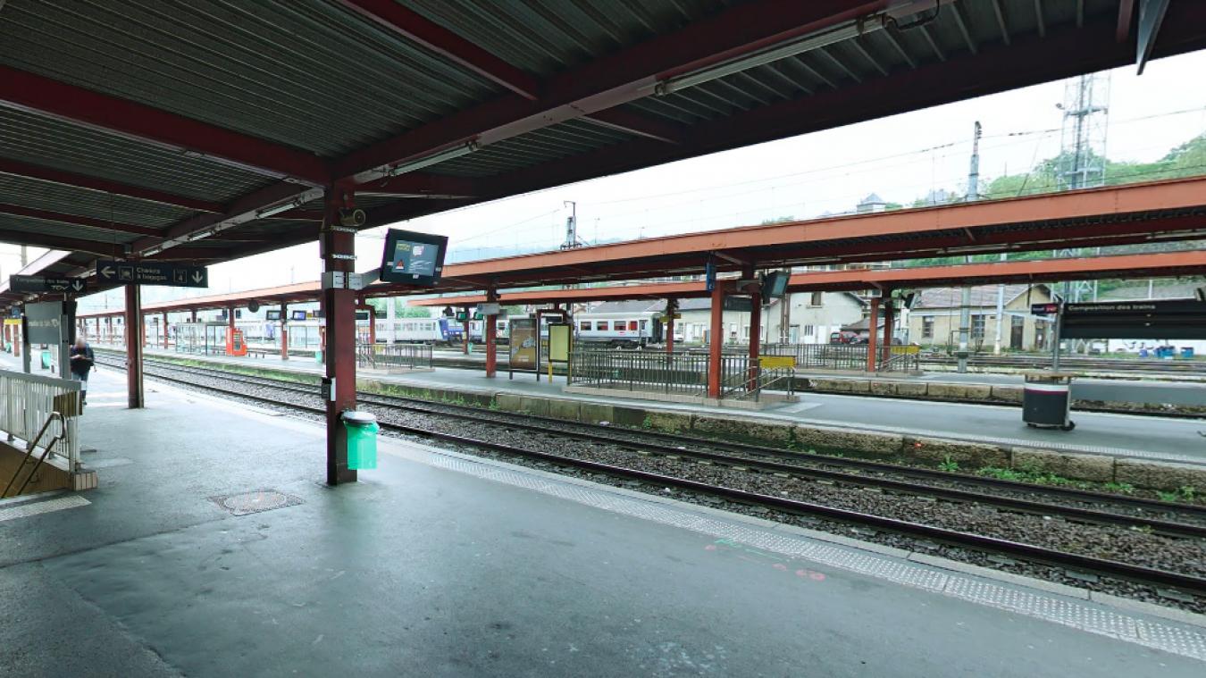 Le vol a eu lieu sur un quai de la gare de Chambéry.