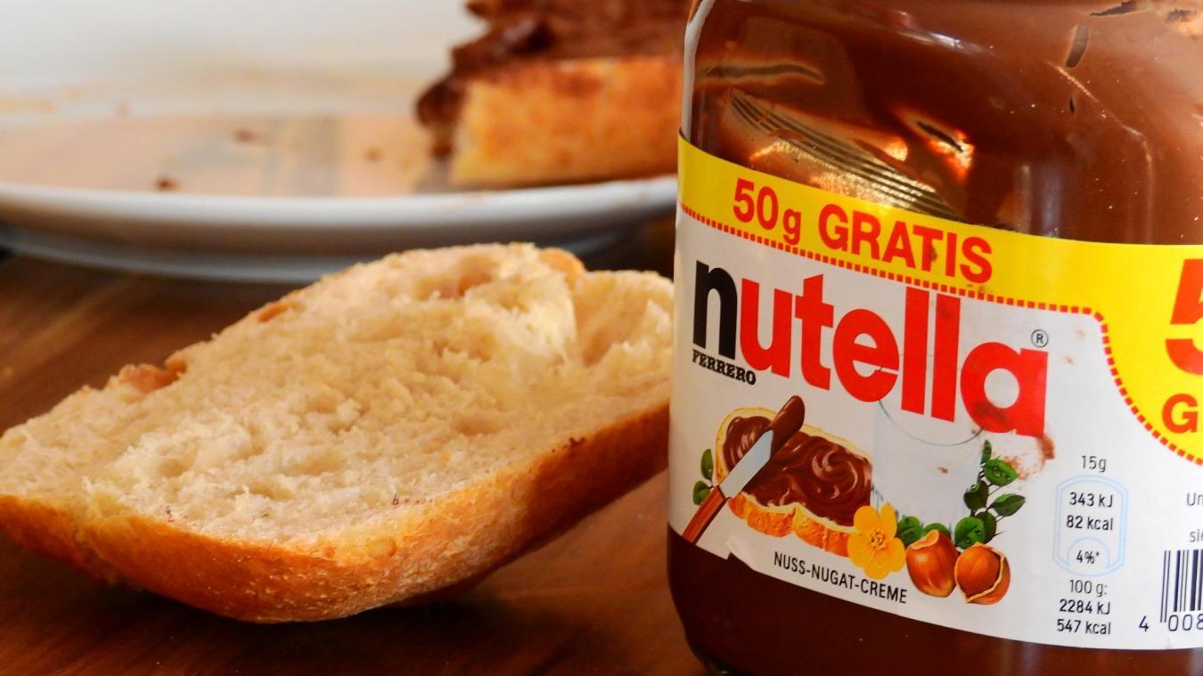 Pas de réduction de la taille des pots de Nutella pour la France ni même pour la Belgique.