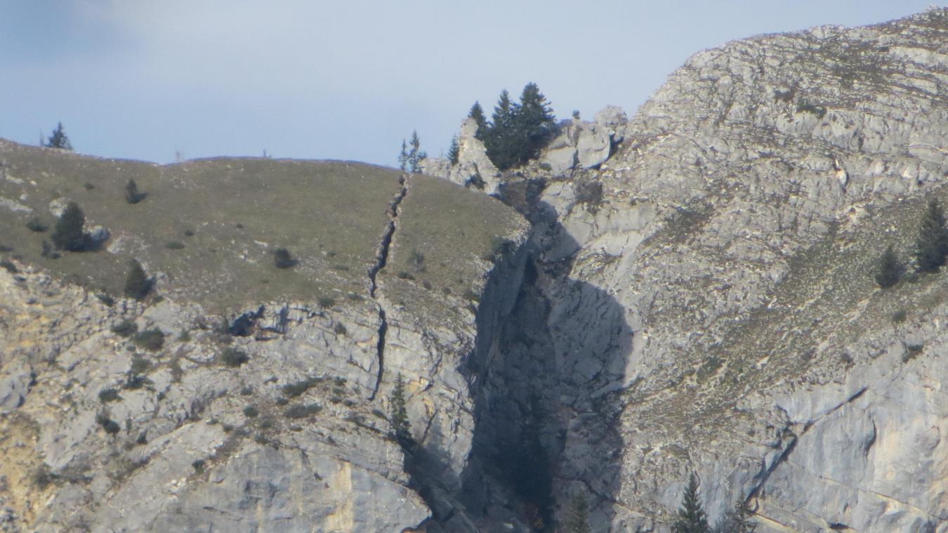 Le mont César va-t-il s'effondrer sur Bernex?