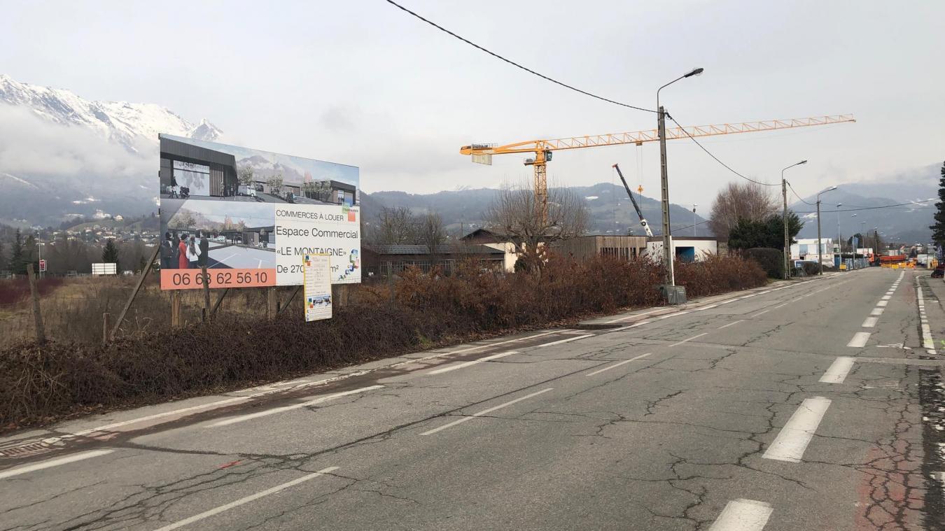 La municipalité a délivré le permis de construire pour la future galerie commerciale Le Montaigne.