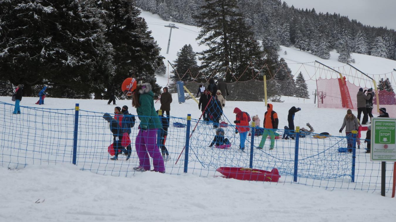 Luges, raquettes et skis de fond avaient pas mal de succès durant les vacances de Noël, avec une belle fréquentation au Semnoz.