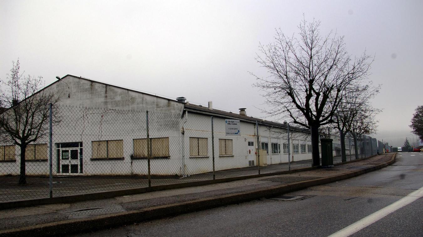 L'ancien atelier Plastorex devrait être déconstruit en 2022 si tout va bien.