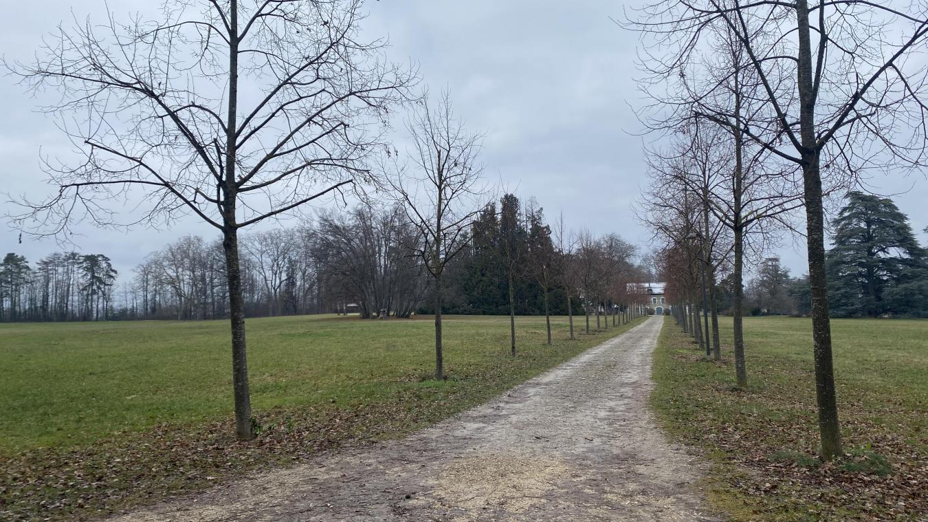 Le parc du château est emblématique de la commune de Prévessin-Moëns.