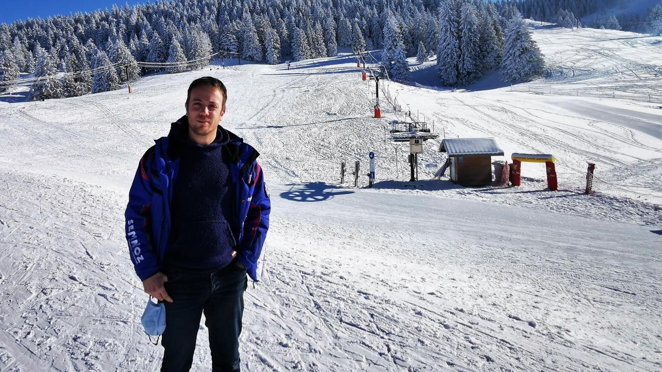 Grégoire Chavanel est directeur du Semnoz depuis la fin de l'été dernier. Il vise une diversification des pratiques pour être moins dépendant du ski alpin.