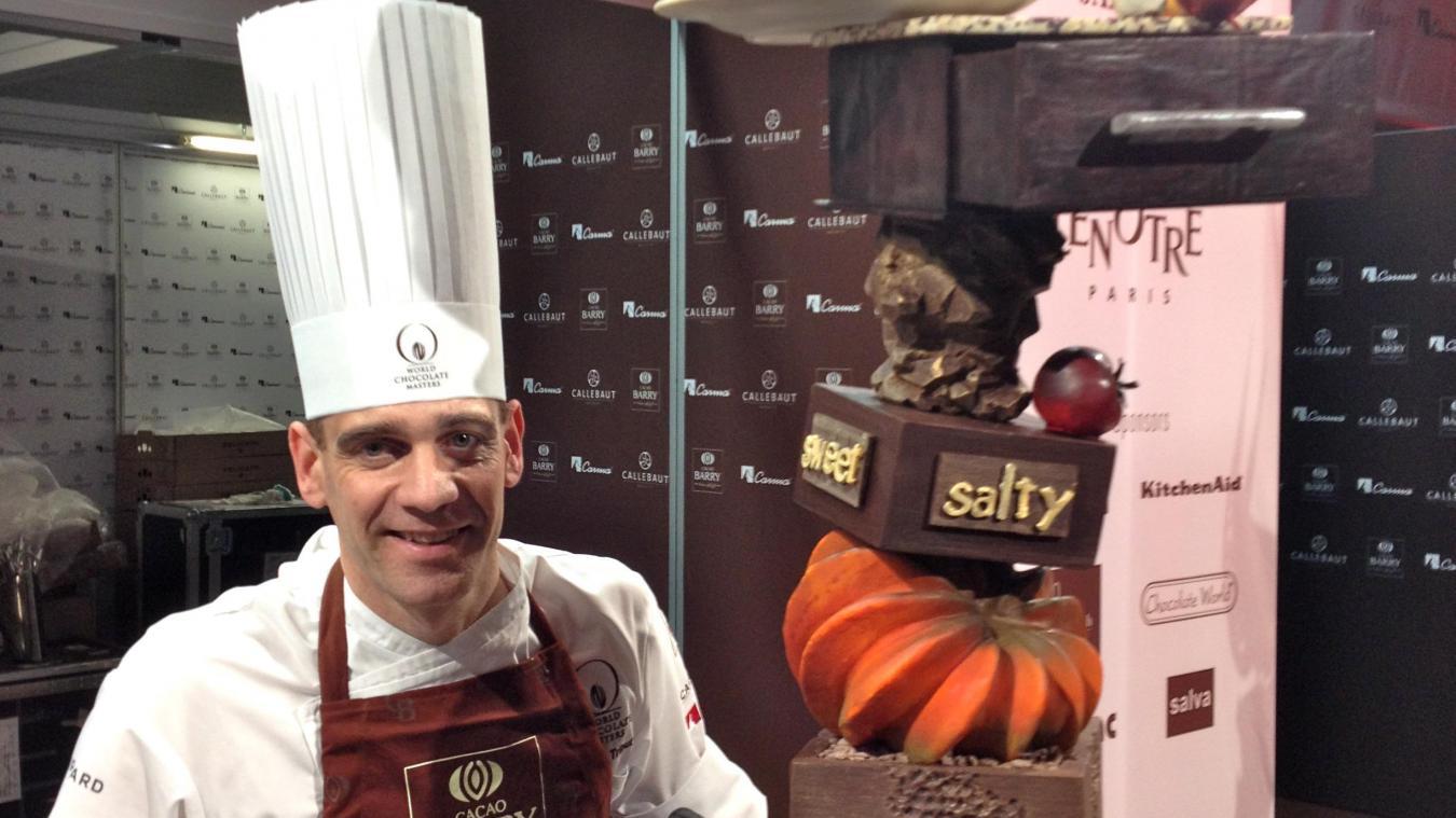 En 2013, Olivier Tribut a fini parmi les meilleurs chocolatiers au monde lors d'un concours international.