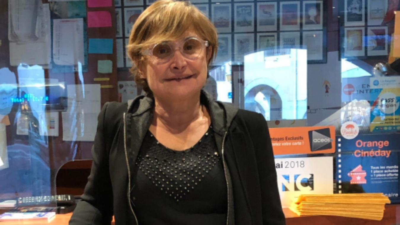 Danyèle Falquet des Nemours garde espoir de voir le cinéma reprendre en 2021.