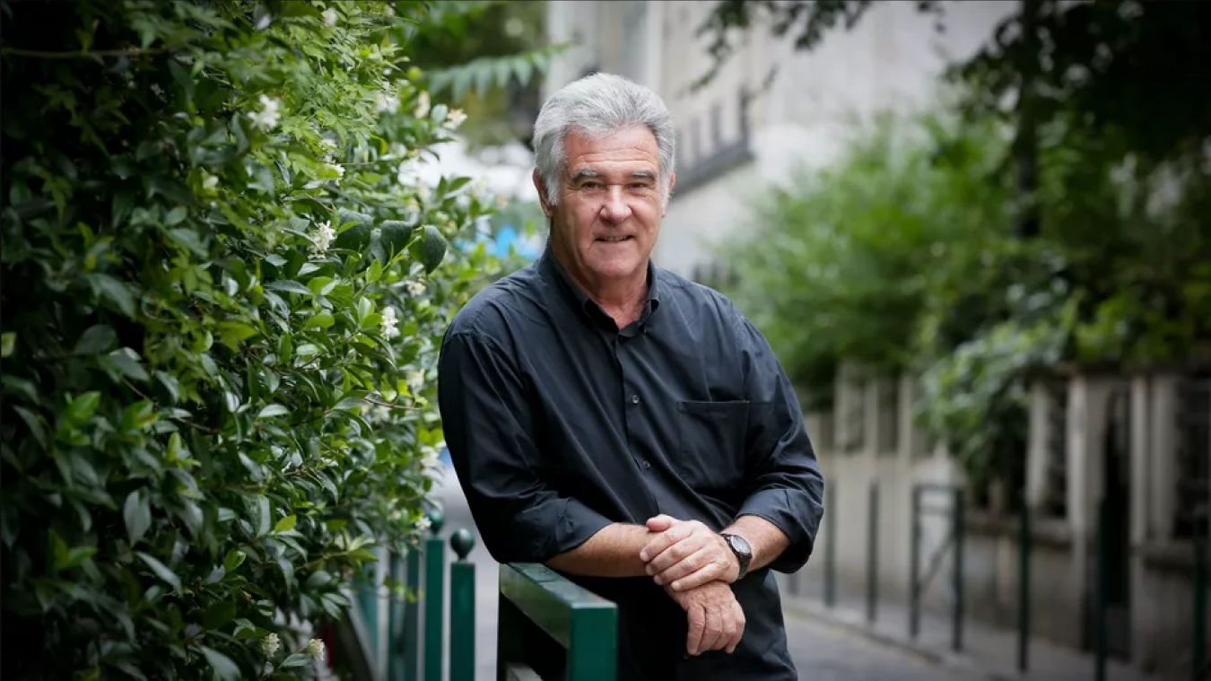 Georges Pernoud en 2015, à Paris