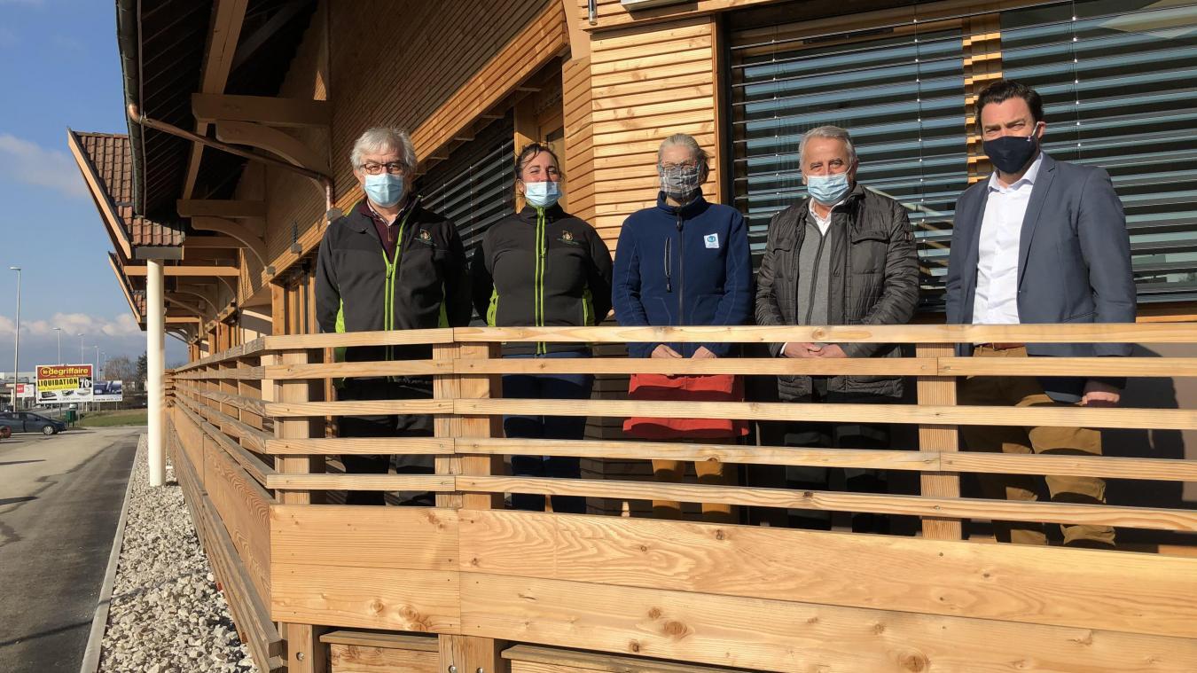 Deux associations d'insertion ont aménagé dans leurs nouveaux locaux début décembre.