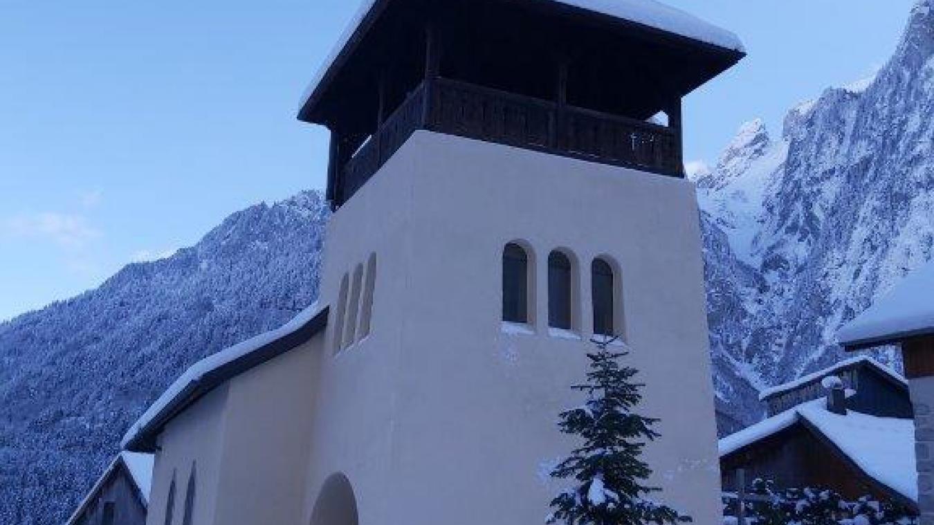 L'église de Novel est aujourd'hui complètement restaurée.