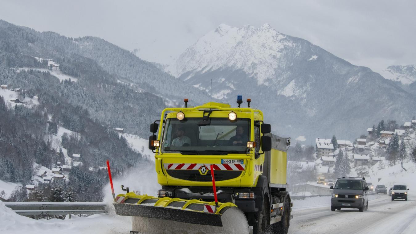 La circulation risque d'être difficile sur les routes de Haute-Savoie.