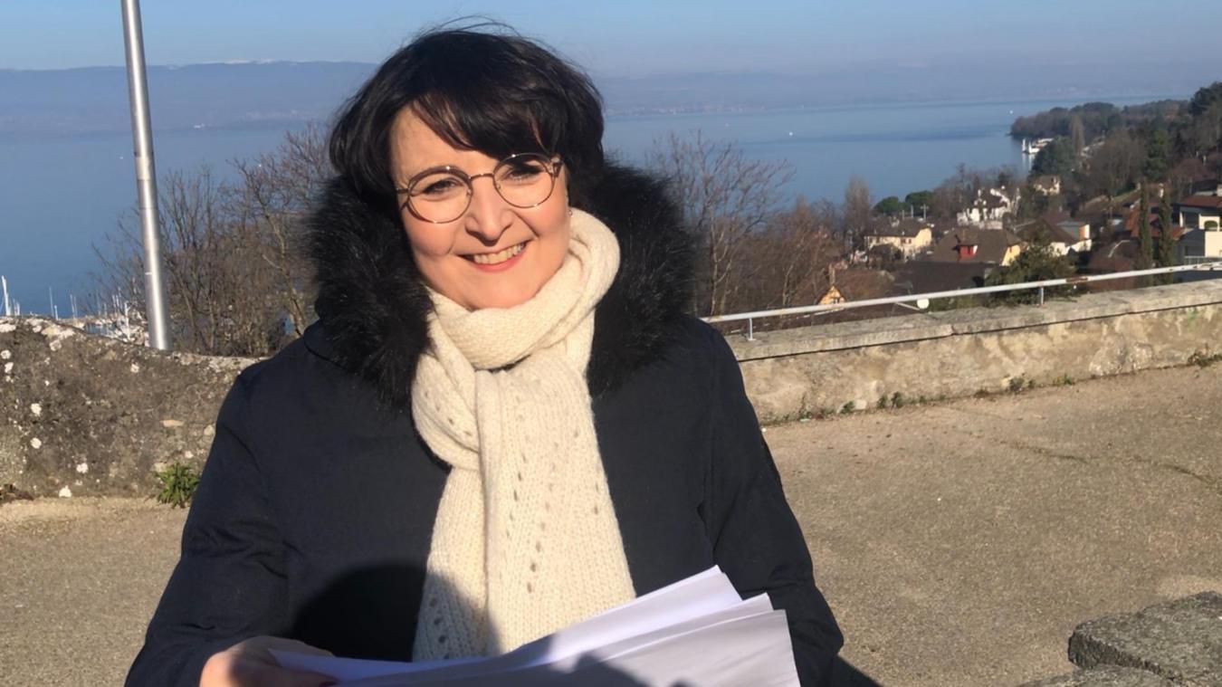 En tant que conseillère régionale Auvergne-Rhône-Alpes, Astrid Baud-Roche suit de près l'évolution du dossier.