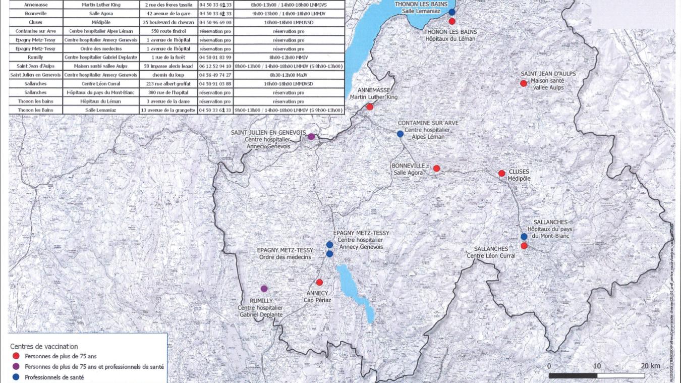 Haute-Savoie : comment se faire vacciner contre le Covid-19 ?