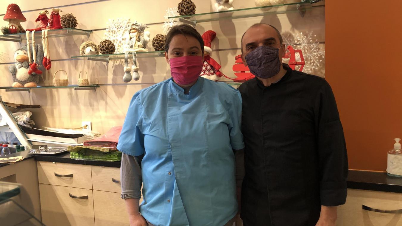 Pour Olivier et Christelle, le couvre-feu est surtout un coup dur pour les restaurateurs.