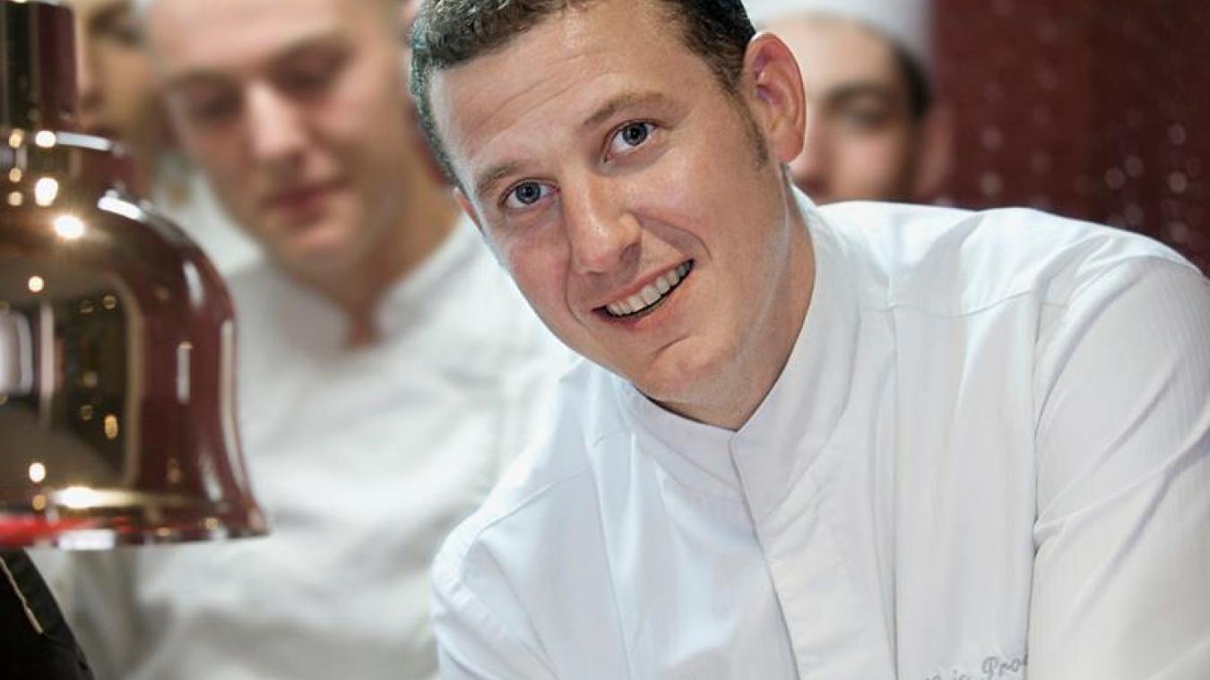Eric Prowalski est aux commandes du restaurant gastronomique La Rotonde depuis 2011 (photo d'archives).