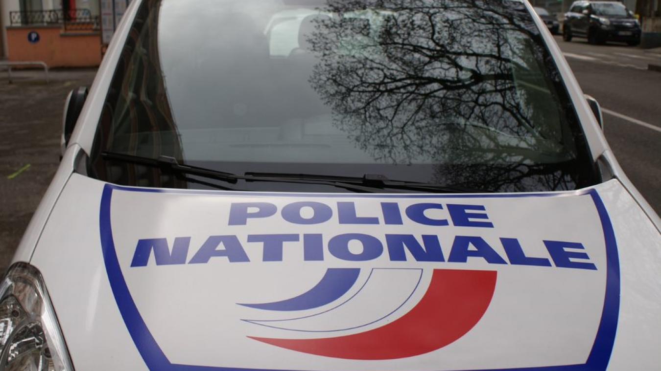 La police effectuait une surveillance sur l'avenue des Romains à Annecy.