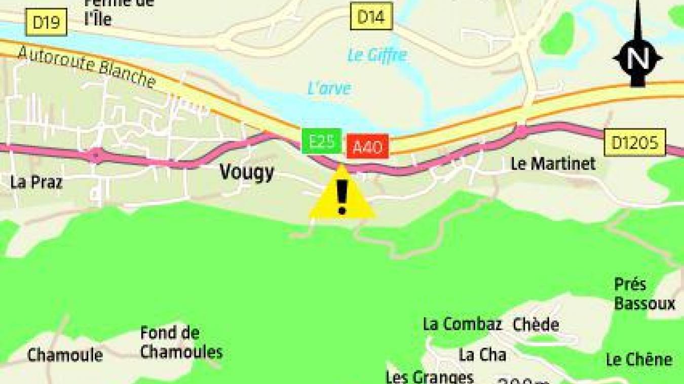 A Vougy, 25 sapeurs-pompiers ont été mobilisés après une fuite de gaz.