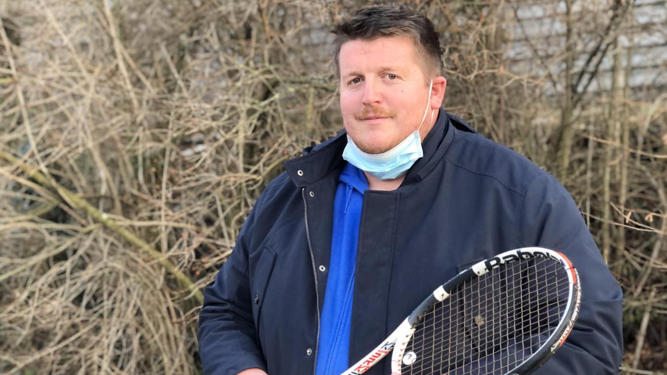 Johan Mamessier est coach de tennis à Allinges.