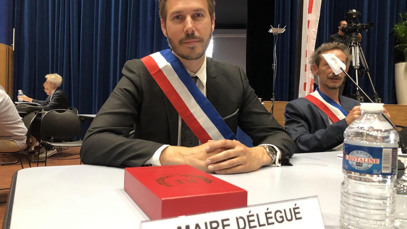 Pour Xavier Osternaud, l'important sera de bien intégrer le projet au milieu des autres quartiers de Pringy.
