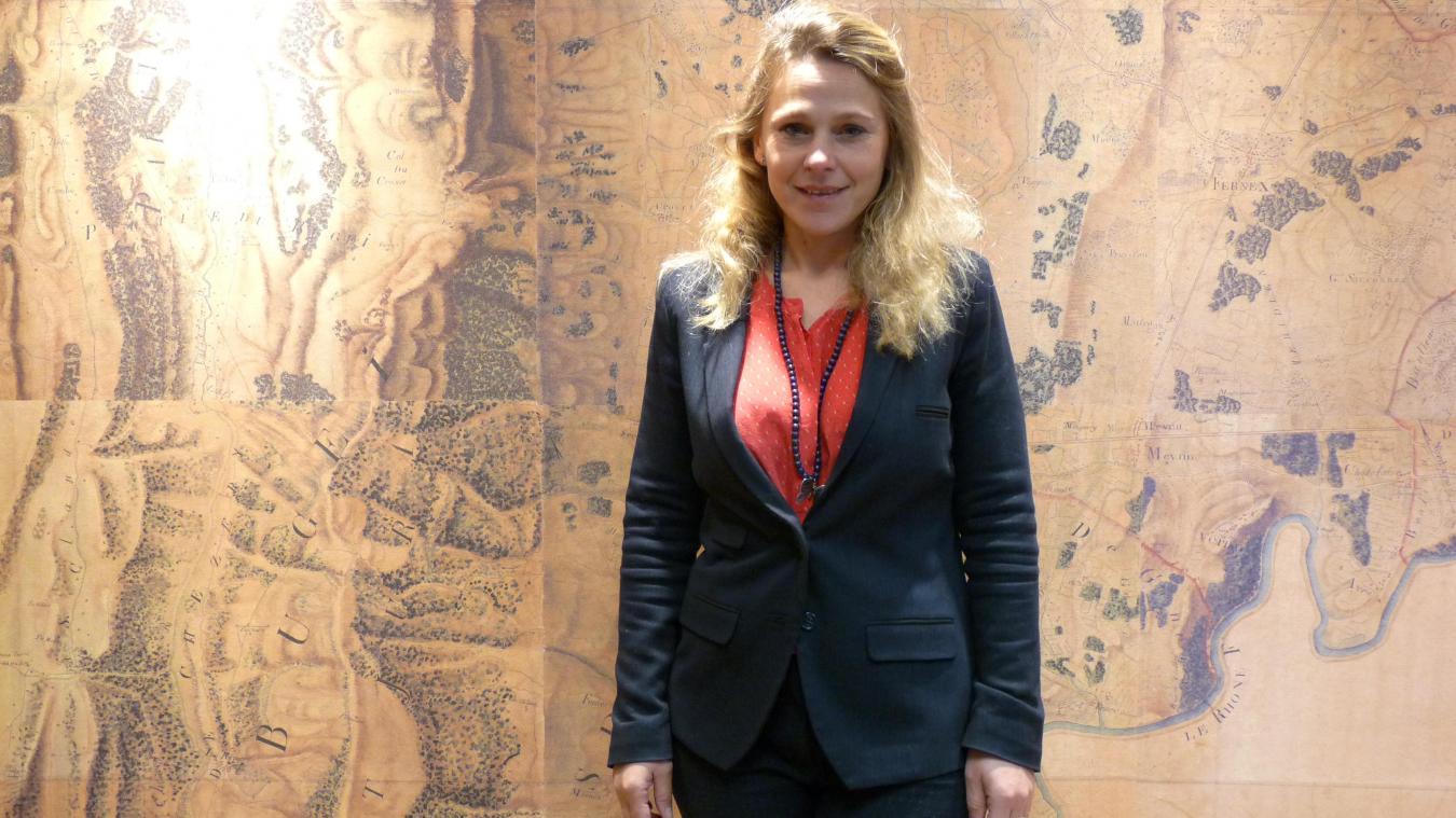 Aurélie Charillon a présenté ses vœux à travers une vidéo, comme la plupart des maires gessiens.