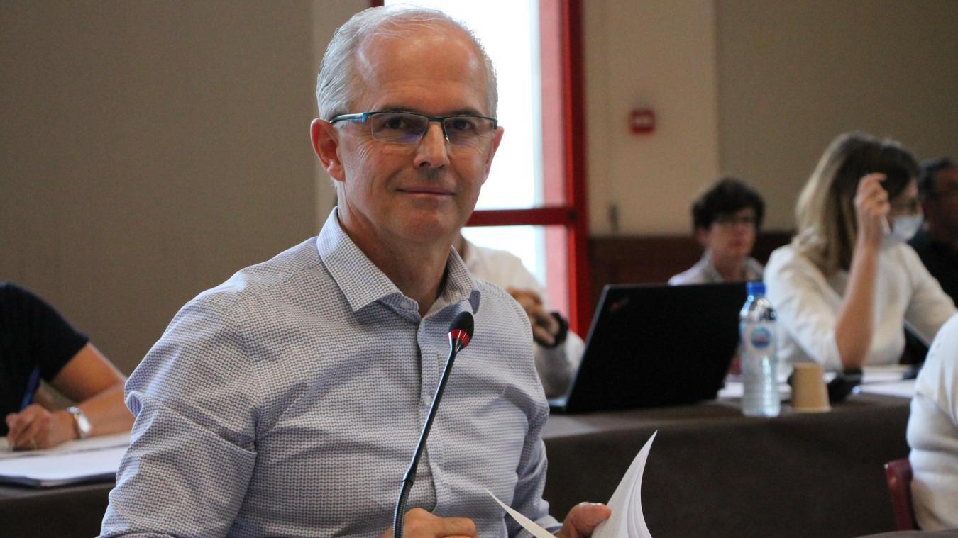 Patrick Perréard, président de la communauté de communes du pays bellegardien.