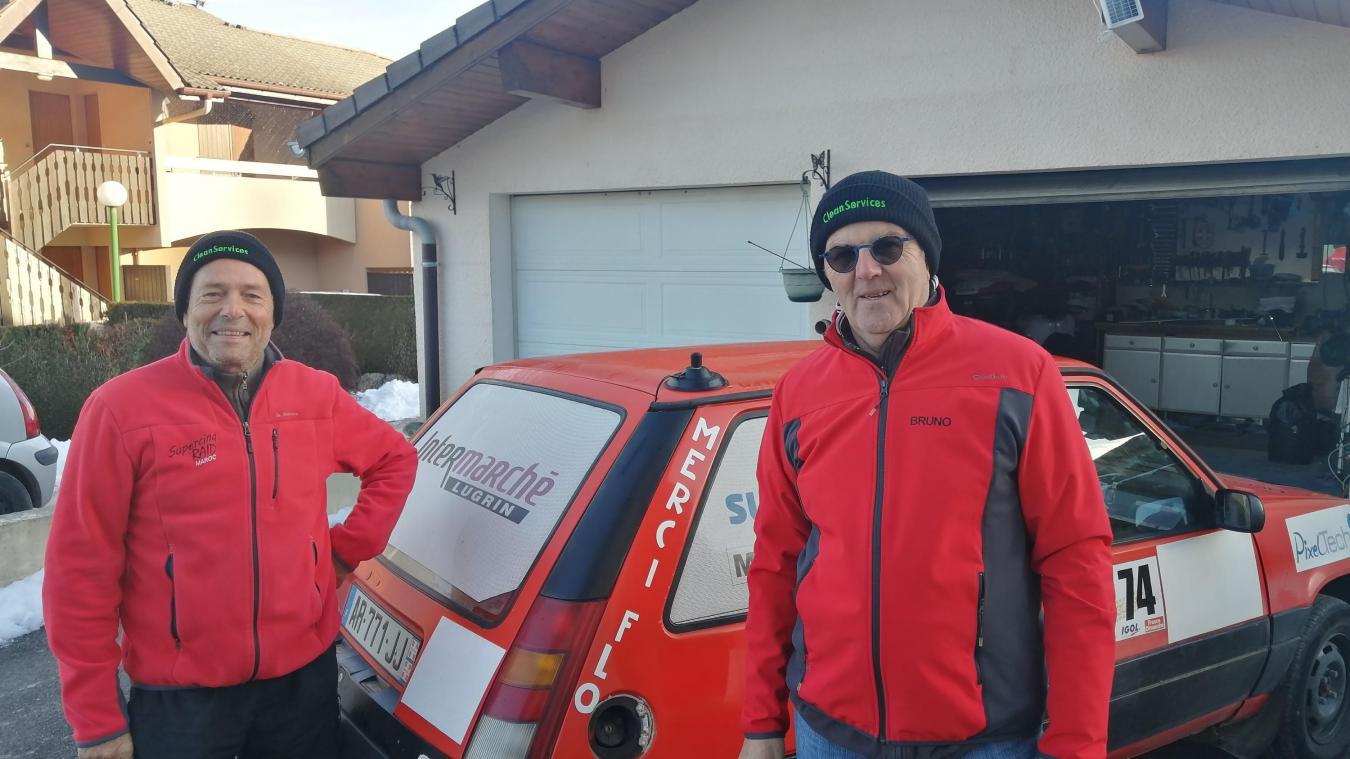 Bruno Huvé et Dominique Lagnier sont bientôt prêts pour l'aventure.