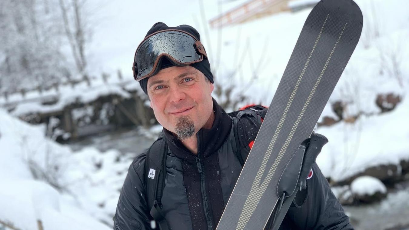 Installé à Doussard, l'atelier de fabrication de la société Dénériaz a commencé à produire des skis de randonnée fin 2019-début 2020. Une idée dont le patron se félicite aujourd'hui. Photo: Facebook Antoine Dénériaz.