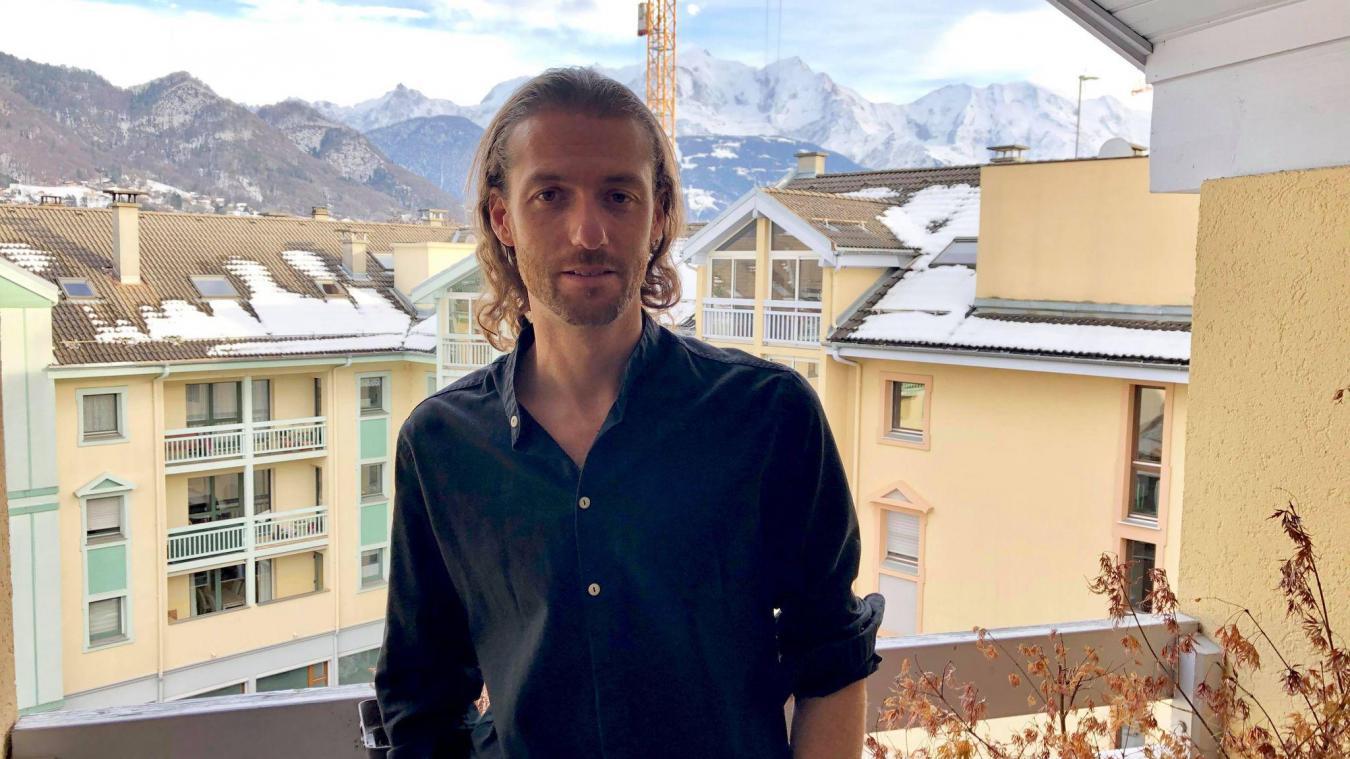 Alexandre Deschaumes, chez lui à Sallanches, mercredi 20 janvier.