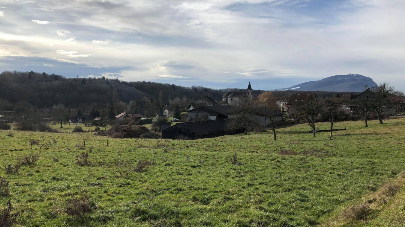 C'est sur cette ancienne parcelle agricole, d'un peu plus d'1,8 hectare, qu'est prévue l'implantation d'un lotissement.
