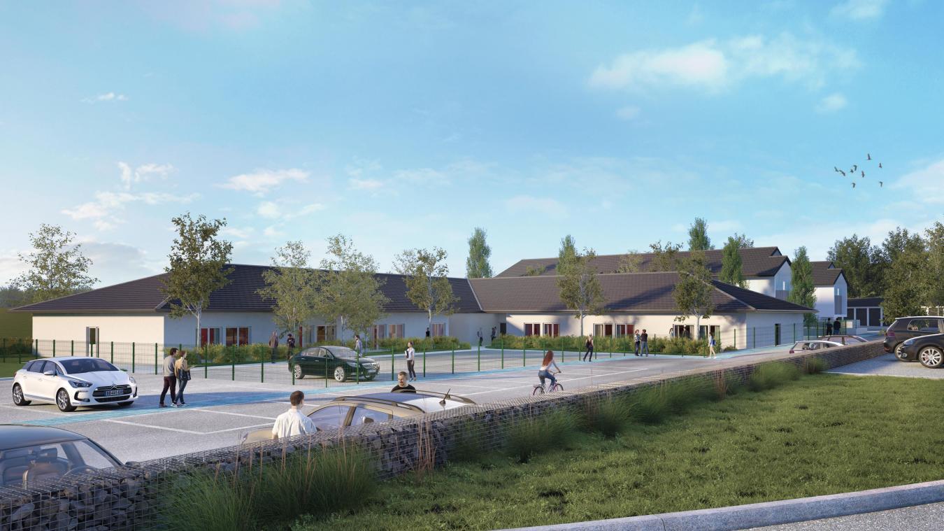 La nouvelle résidence Le Vallon des Vouas fonctionnera sur le principe d'un habitat partagé pour seniors privilégiant l'entraide, le maintien de l'autonomie et la vie sociale.