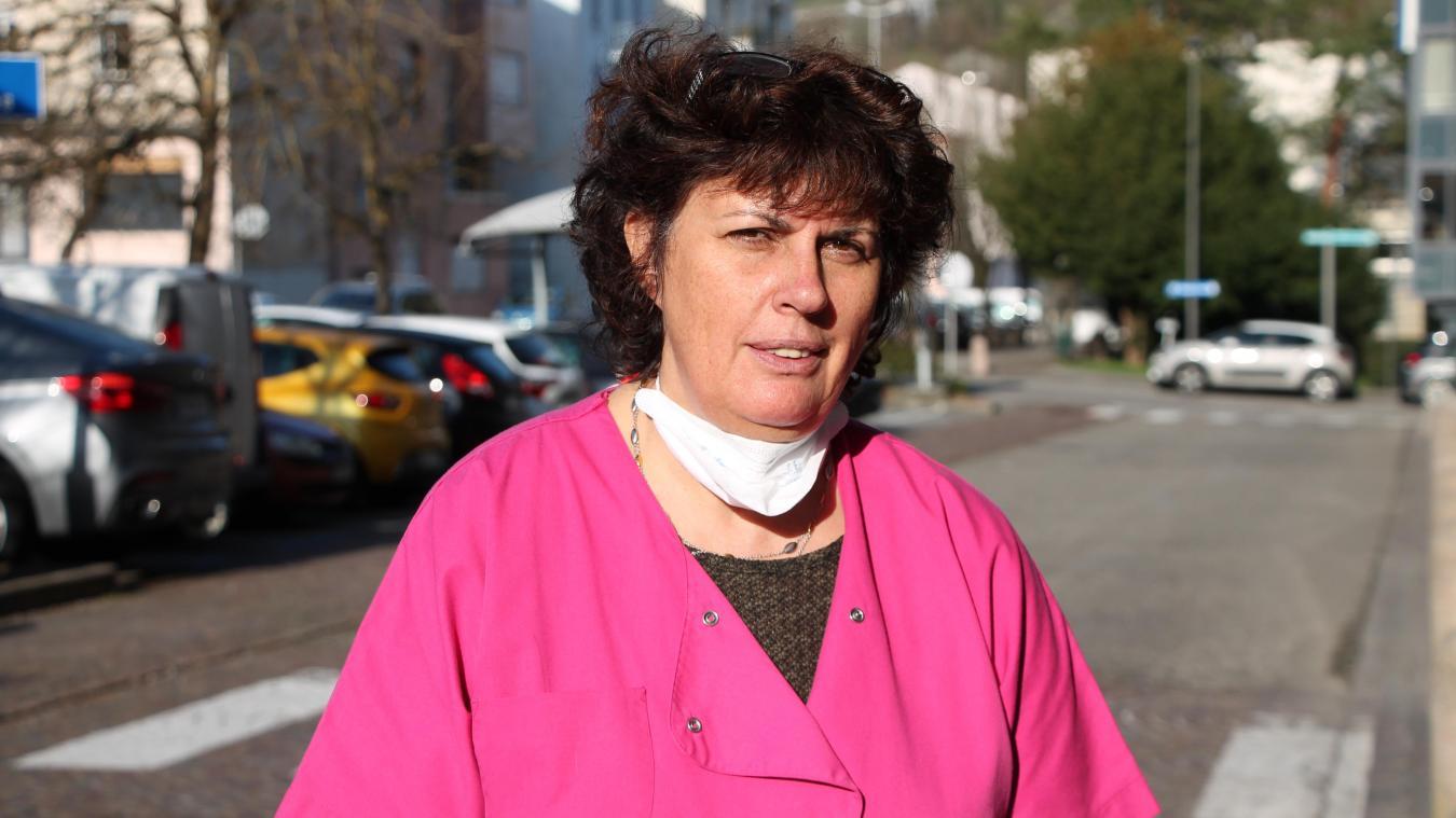Françoise Guillemot est également médecin régulateur au centre 15 de Bourg-en-Bresse.