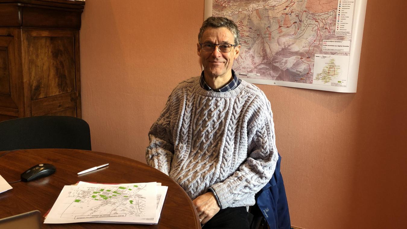 Vincent Dieudonné 2e adjoint tient beaucoup à l'engagement de la commune en faveur du développement durable.