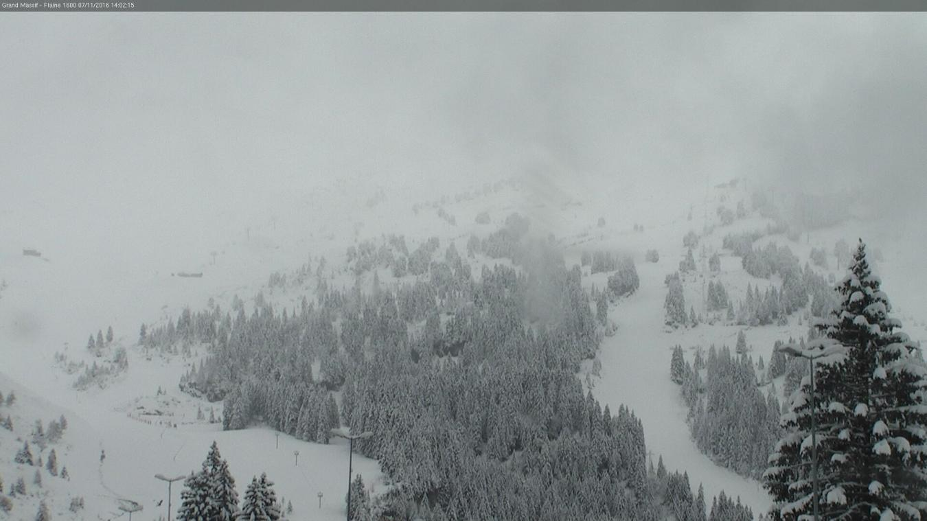 Fermeture des domaines skiables des Carroz et de Flaine, du 28 au 31 janvier inclus, suite à une mauvaise météo.