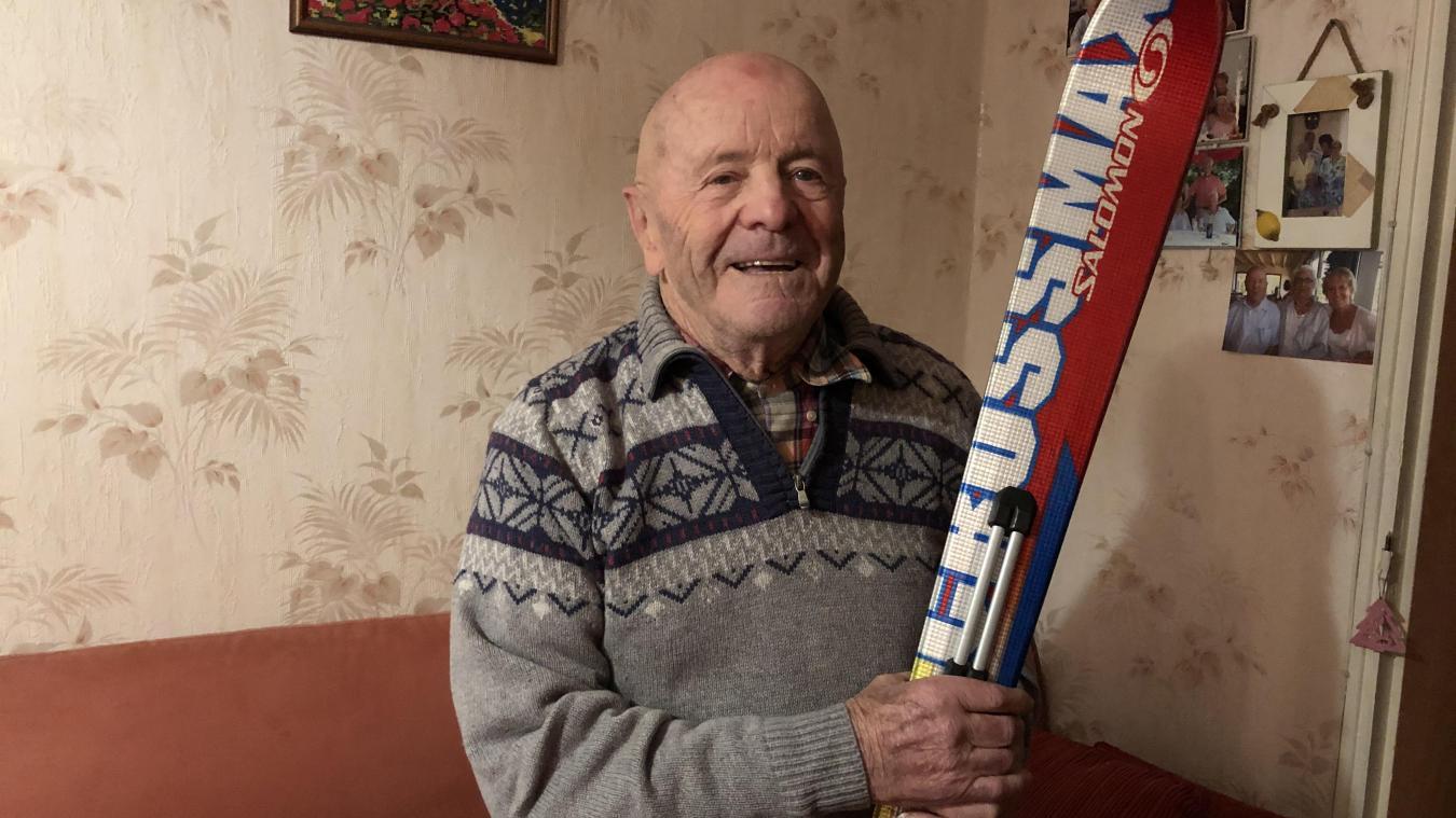 Pour Denis, le ski, c'est sa vie !