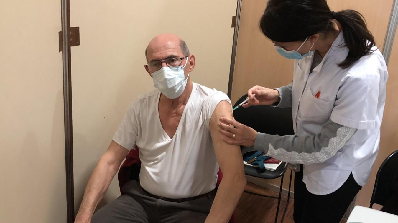 La campagne de vaccination à Seynod avait débuté le 18 janvier.
