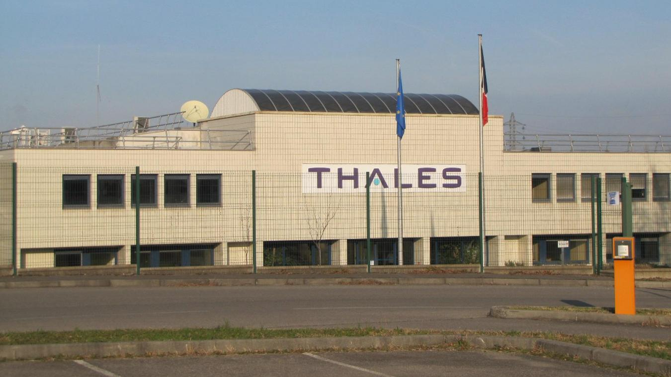 L'usine Thales de Thonon-les-Bains emploie 316 personnes.