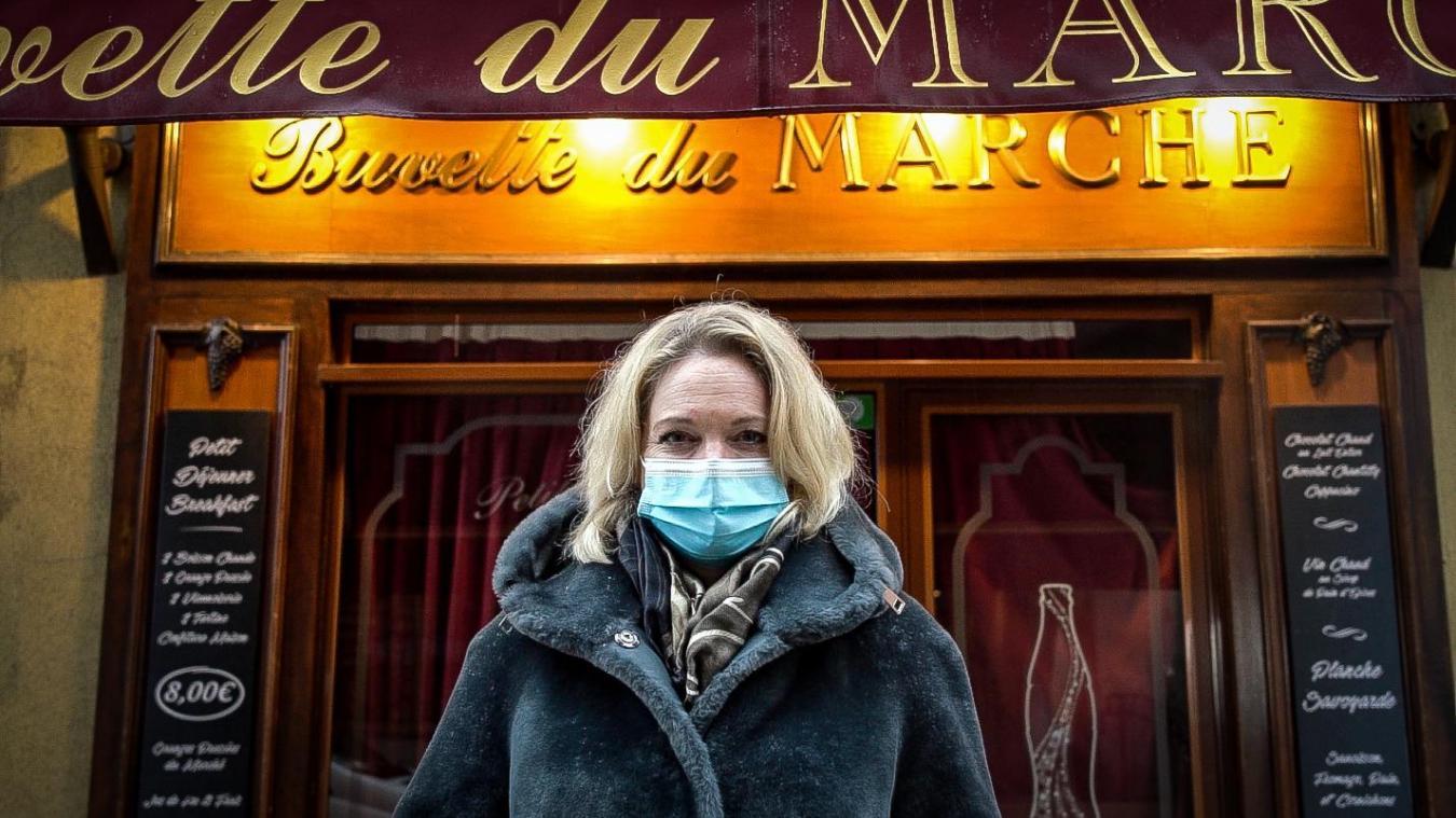 Karine Zerbola est également propriétaire du bistrot «La Buvette du marché» à Annecy.