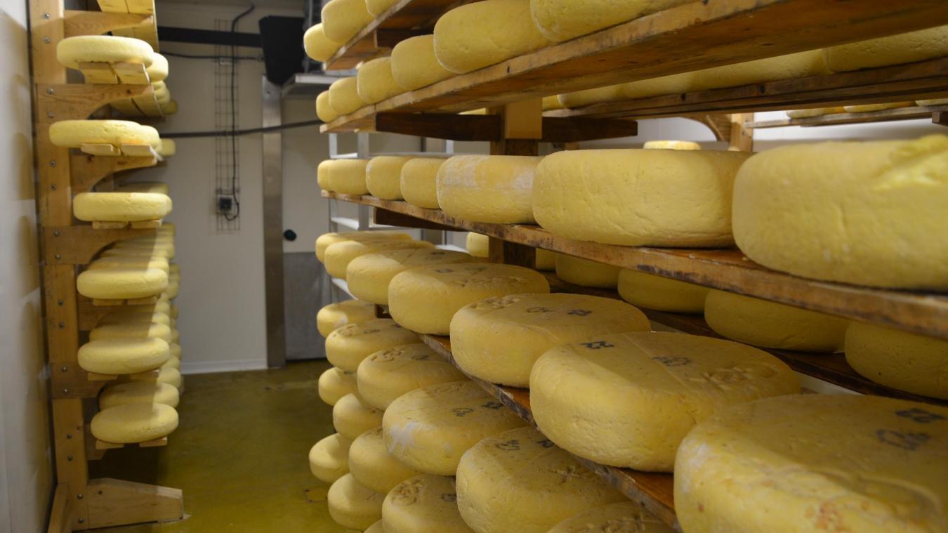 La fromagerie de Chézery fait partie des producteurs de Bleu de Gex.