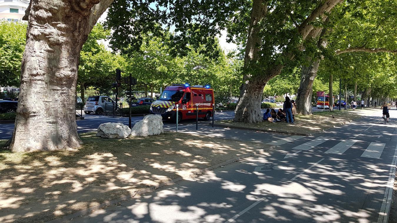 L'accident avait eu lieu avenue d'Albigny le 23 juillet.