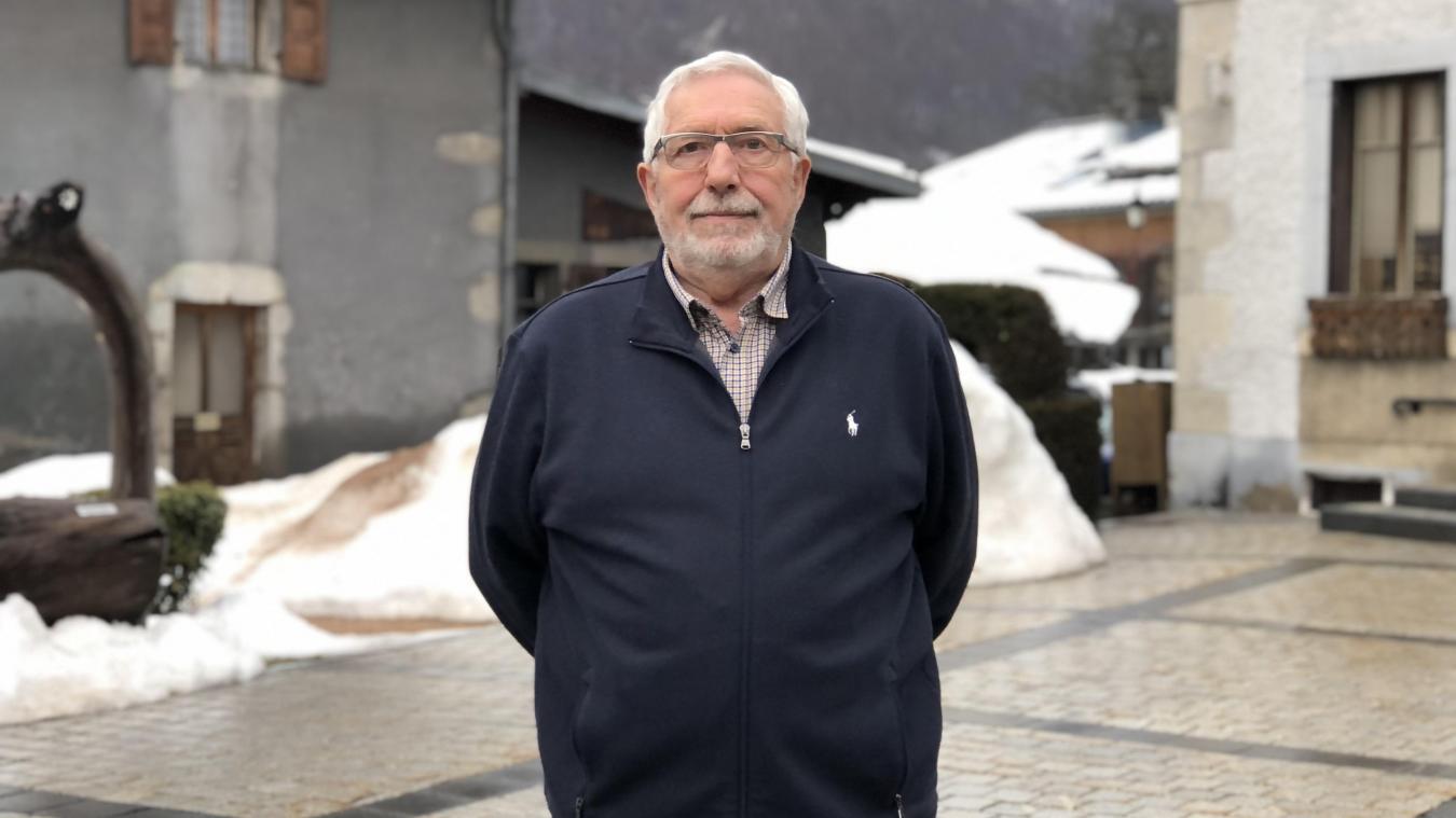 Jean-Claude Denné a été élu maire de Montriond lors des élections de mars 2020.